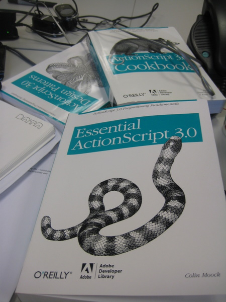 Three books essentional to ActionScripit 3.0