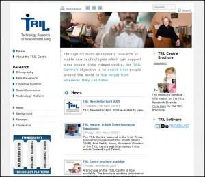 TRIL Centre - Website